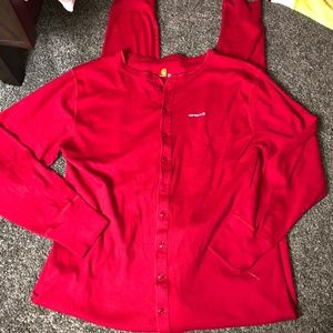 CARHARTT RED FLANNEL UNION SUIT BUTTON BUTT 2XL